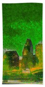 Houston Skyline 49 - Pa Bath Towel
