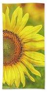 How Do You Dew, Sunflower Hand Towel