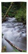 How The River Flows Bath Towel