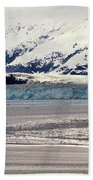Hubbard Glacier Alaska Wilderness Bath Towel