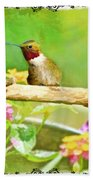 Humminbird Attitude - Digital Paint 3 Bath Towel