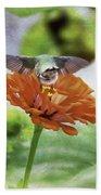Hummingbird Bow Bath Towel