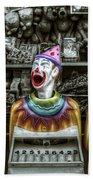Hungry Clowns Bath Towel