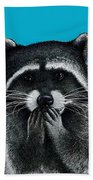 Hungry Raccoon Bath Towel