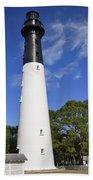 Hunting Island Lighthouse South Carolina Bath Towel