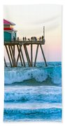 Huntington Pier Bath Towel