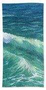 Huntington Small Waves  Bath Towel