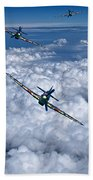 Hurricanes On Your Tail Bath Towel