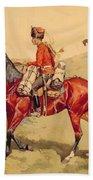 Hussar Russian Guard Corps Bath Towel