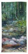 Hutan Perdic Forest Malaysia 2016 Bath Towel