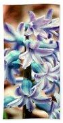Hyacinth Photo Manipulation  Bath Towel