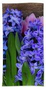 Hyacinths And Tulips II Bath Towel