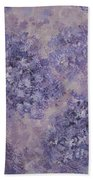 Hydrangea Blossom Abstract 2 Bath Towel