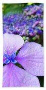 Hydrangea Flowers Art Prints Hydrangea Garden Giclee Art Prints Baslee Troutman Bath Towel
