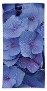 Hydrangea Flowers Bath Towel