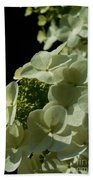 Hydrangea Formal Study Portrait Bath Towel