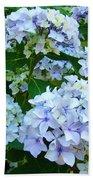 Hydrangea Garden Landscape Flower Art Prints Baslee Troutman Bath Towel