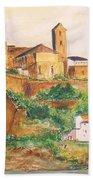 Ibiza Old Town Unesco Site Bath Towel