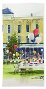 Ice Cream Social And Strawberry Festival, Lakeside, Oh Hand Towel