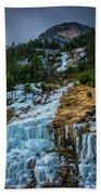 Ice Fall Bath Towel