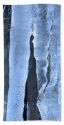 Ice Sculpture Bath Towel