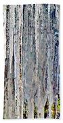 Ice Sickle Curtains Bath Towel