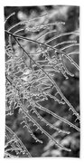Ice Storm 2 - Bw Bath Towel