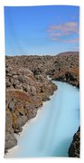 Iceland Tranquil Blue Lagoon  Hand Towel