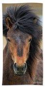 Icelandic Equine Beauty.. Bath Towel
