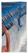 Icy Aftermath Bath Towel