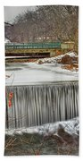 Icy Conditions Bath Towel