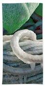 Icy Lines Bath Towel