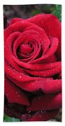 Icy Rose Hand Towel