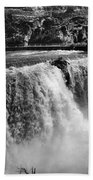 Idaho: Bridal Veil Falls Bath Towel