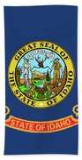 Idaho State Flag Bath Towel