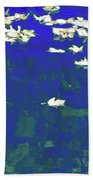 Dreamy Impressionism Bath Towel