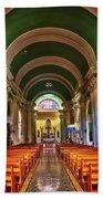 Iglesia De La Merced Hand Towel