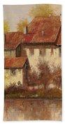 Il Borgo Rosso Bath Towel