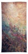 Illuminated Valley I Diptych Bath Towel by Shadia Derbyshire