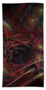 Illusion And Chance - Fractal Art Bath Towel