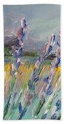 Impressionism Fantasy Field Bath Towel