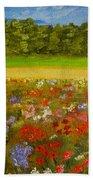 Impressionism Flowers- Pretty Posies Bath Towel