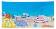 Impressionist Beach Painting Bath Towel