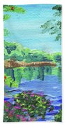Impressionistic Landscape Xx Bath Towel