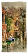 Impressions Of Venice Bath Towel