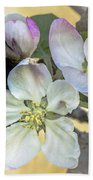 In Apple Blossom Time Bath Towel