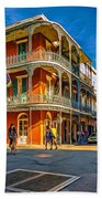 In The French Quarter - 2 Paint Bath Towel