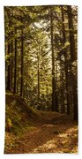 In The Woods Bath Towel