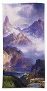 Index Peak Yellowstone National Park Bath Towel