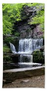Indian Ladder Falls Bath Towel